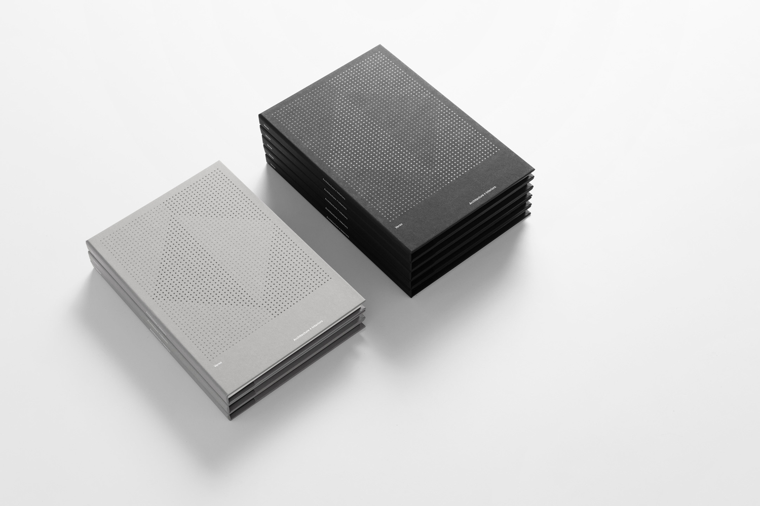 Notepads and brand identity by Studio South for Auckland-based architecture and interior business Verso