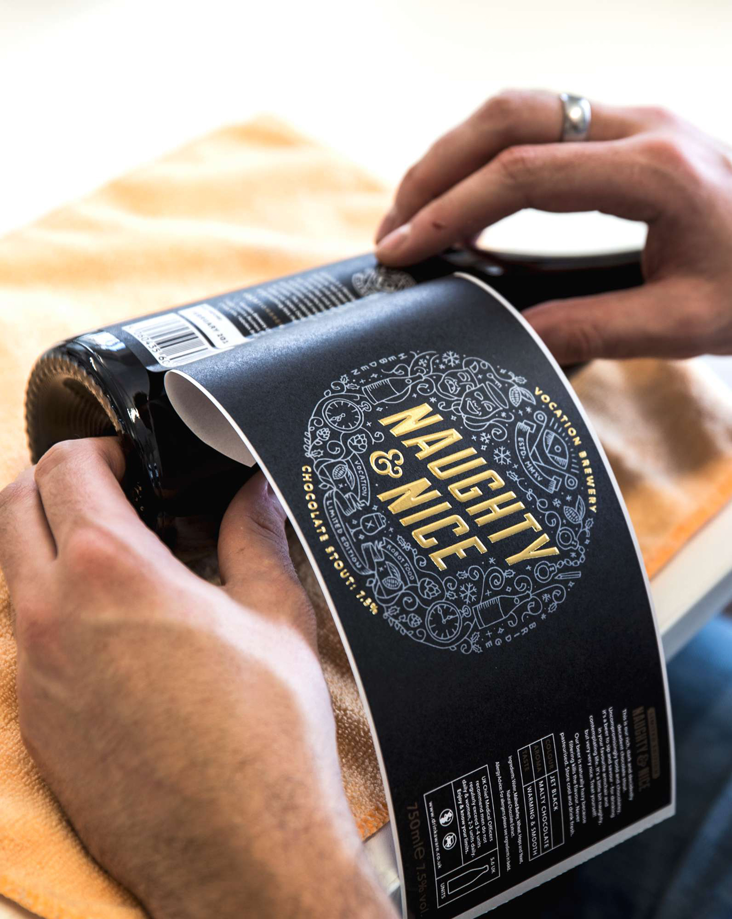Package design application for Vocation Brewery by Leeds based graphic design studio Robot Food
