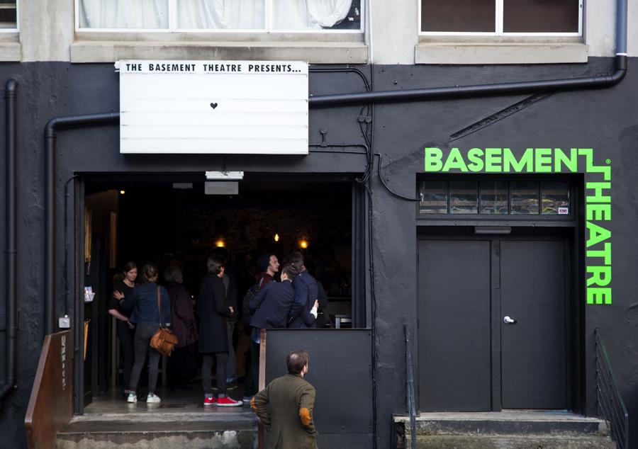 Branding for Basement Theatre by graphic design agency Studio Alexander
