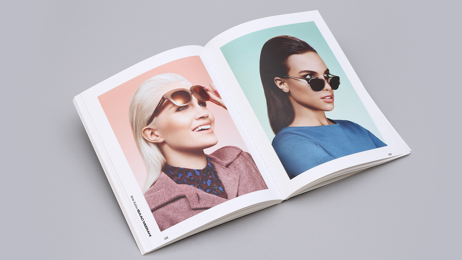 Brand identity, custom typeface and book layout by New York based graphic design studio DIA for boutique retouching business Bespoke