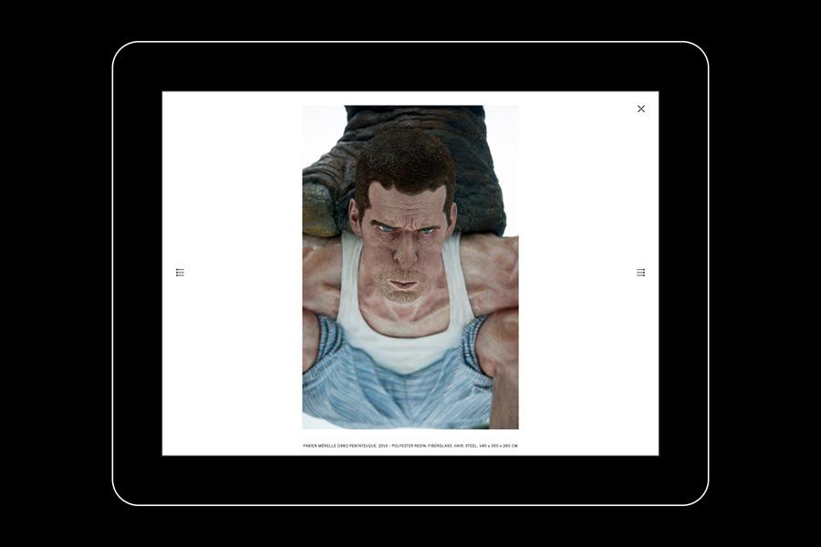 Responsive website for Edouard Malingue Gallery Hong Kong by graphic design studio Lundgren+Lindqvist