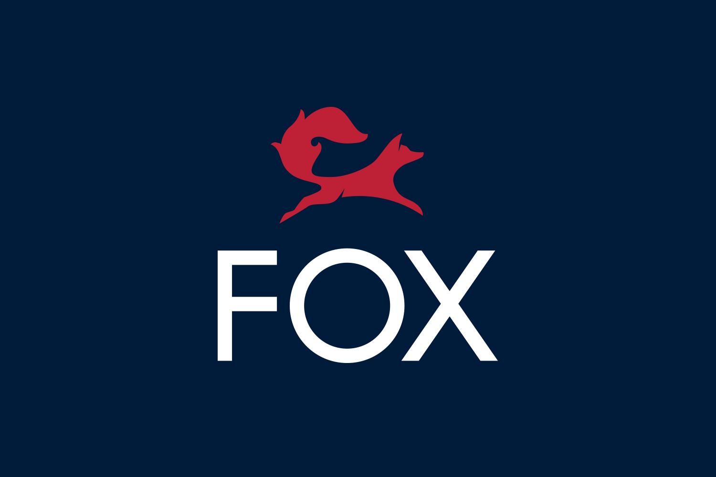 Logo for Fox Real Estate by Parallax Design, Australia