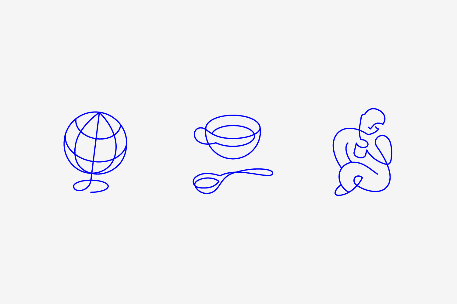 Brand identity and illustrations for New York coffee subscription service Collected Coffee by Fivethousand Fingers