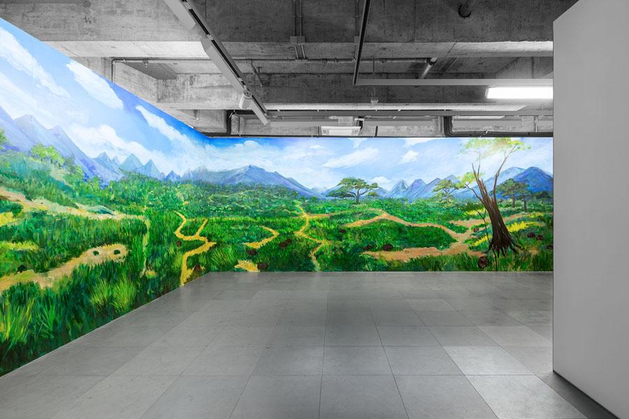 Edouard Malingue Gallery Hong Kong Interior
