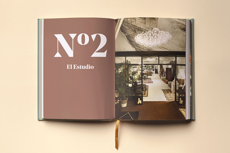 Brochure for interior and architecture studio Mamen Diego by Atipo