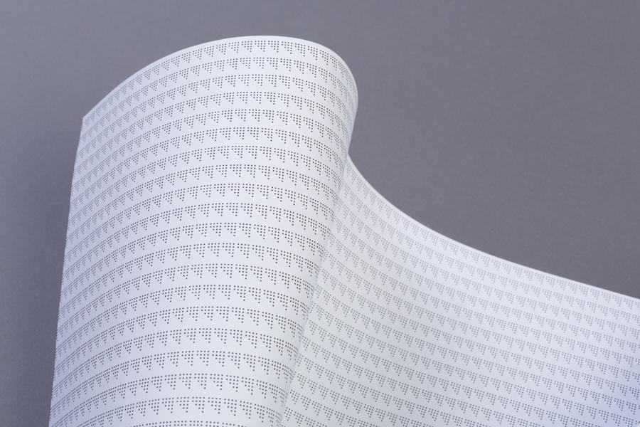 Headed paper design by Atipo for print production studio Minke