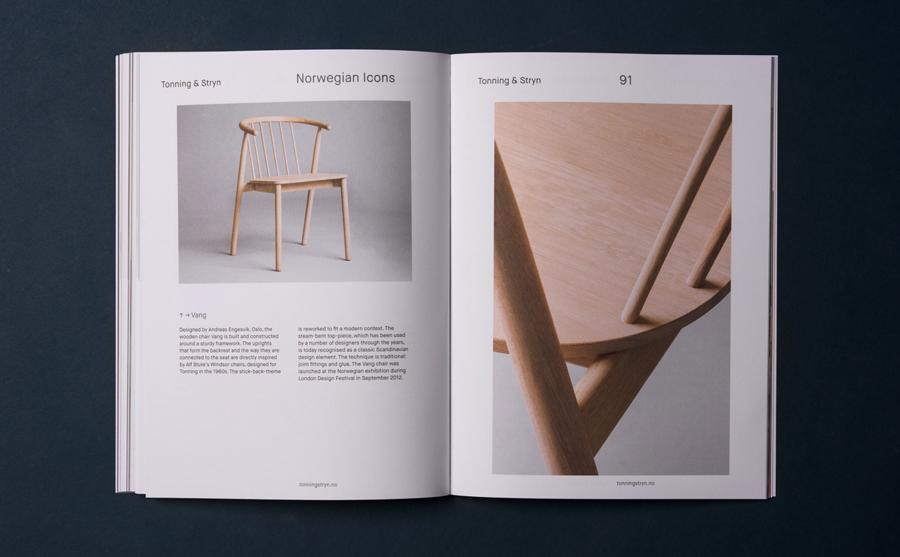 Catalogue for Norwegian Presence by graphic design studio Bielke&Yang