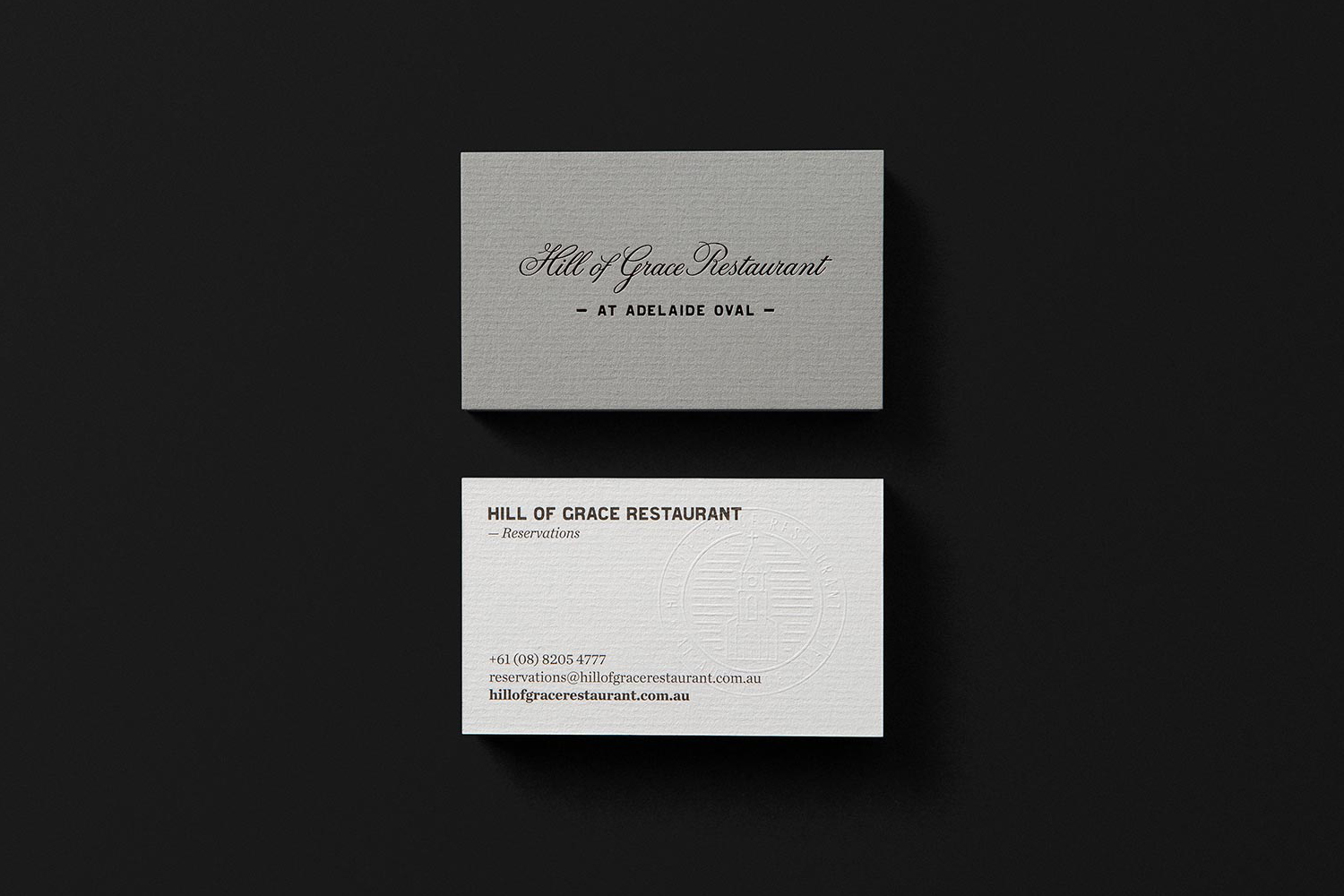 Business Card Design Ideas business card design ideas for 2017 Business Card Design Ideas Hill Of Grace By Band Australia