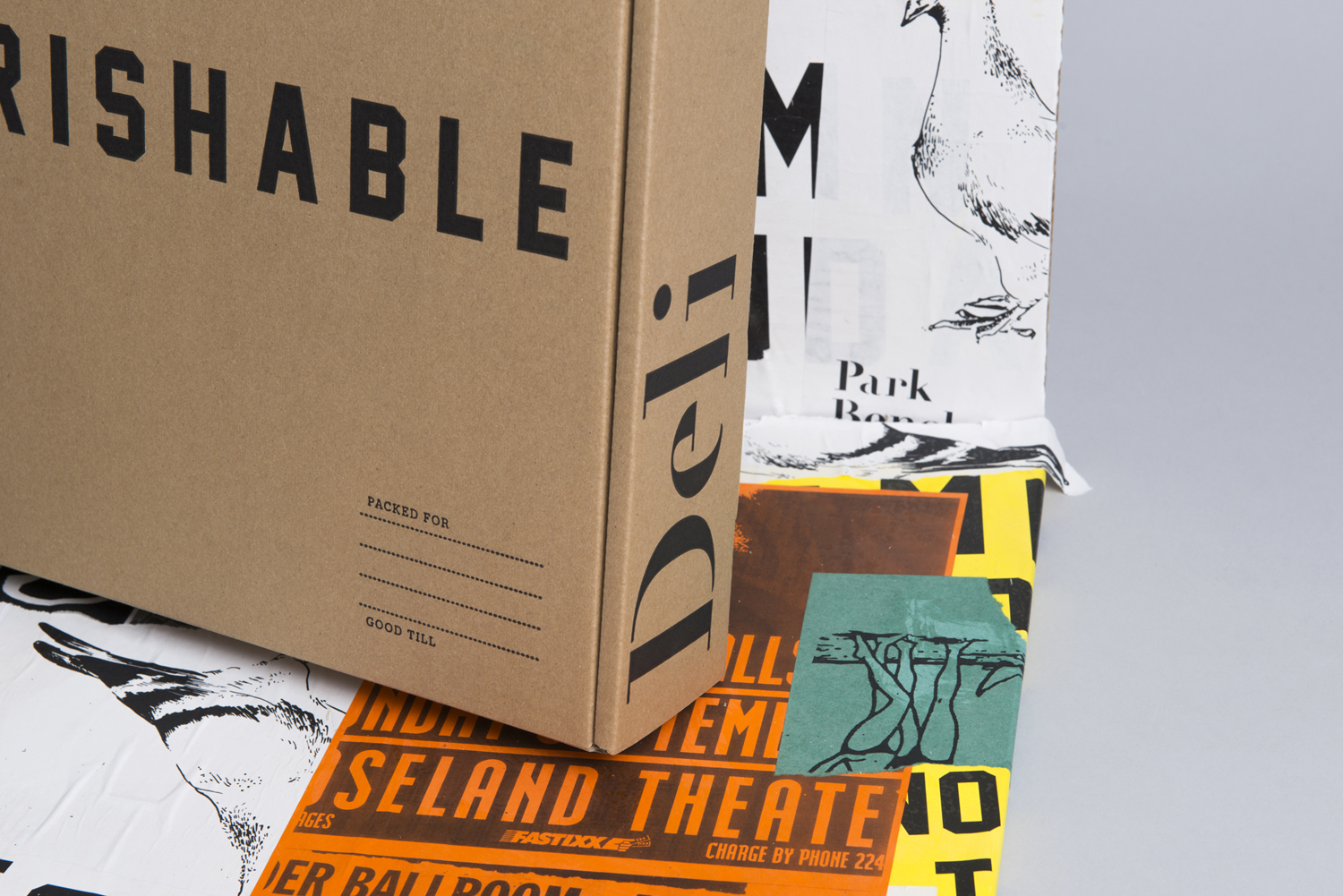 Brand identity and packaging by Foreign Policy for Singapore's Park Bench Deli