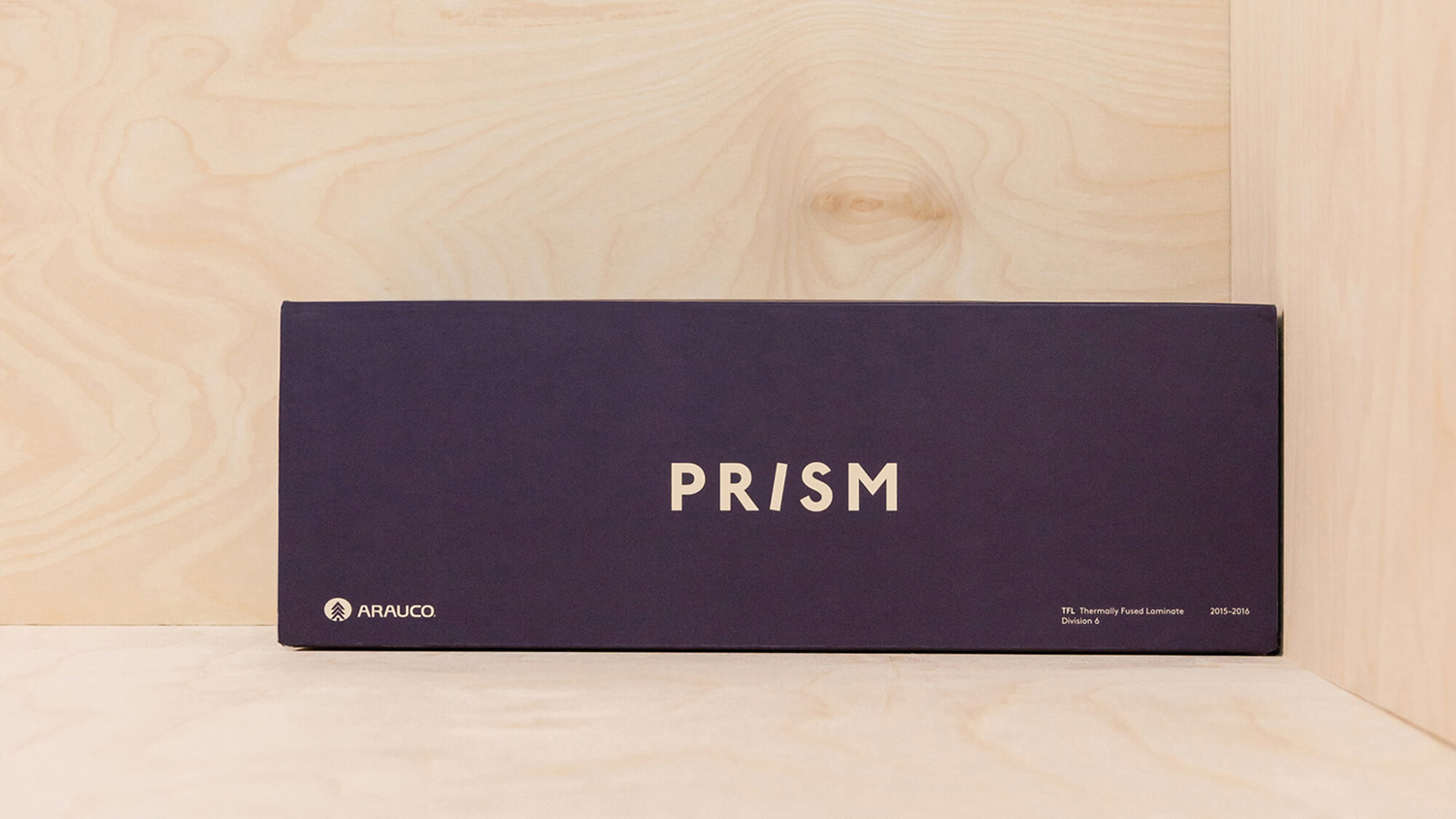 Brand identity and packaging for American laminate brand Prism by Atlanta based graphic design studio Matchstic