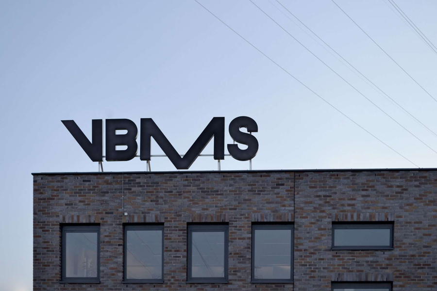 Logotype and signage by Studio Dumbar for VBMS