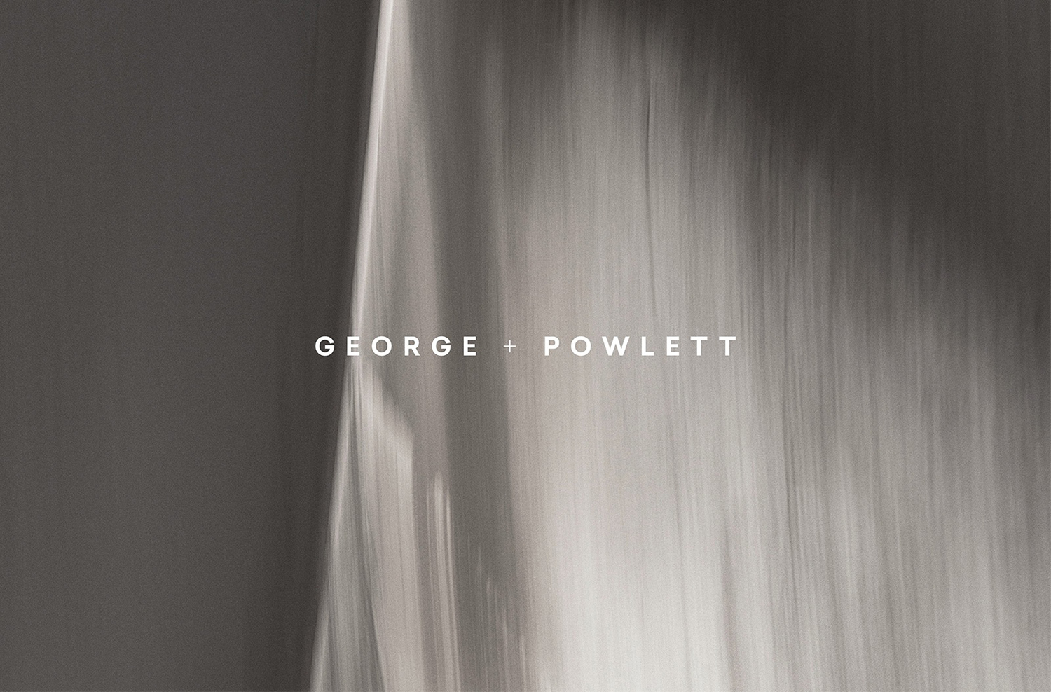 Brand identity and logotype by Studio Brave for East Melbourne residential property development George + Powlett