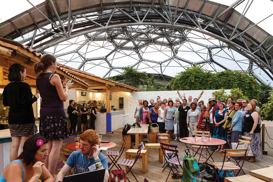 Eden Project's Big Lunch Extras event