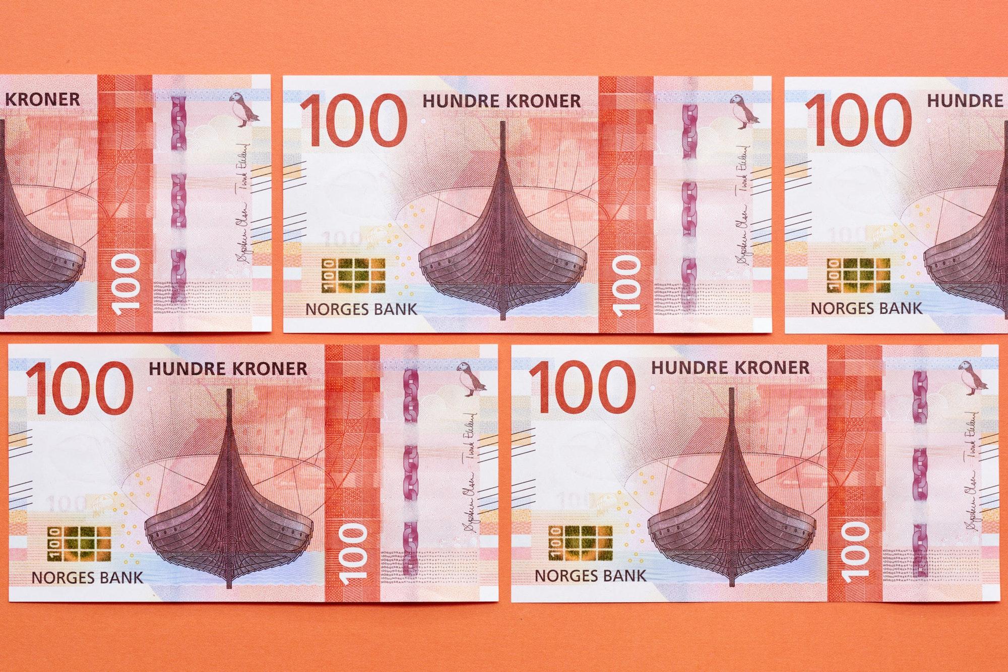 Norwegian Banknotes By Metric Design Bp O