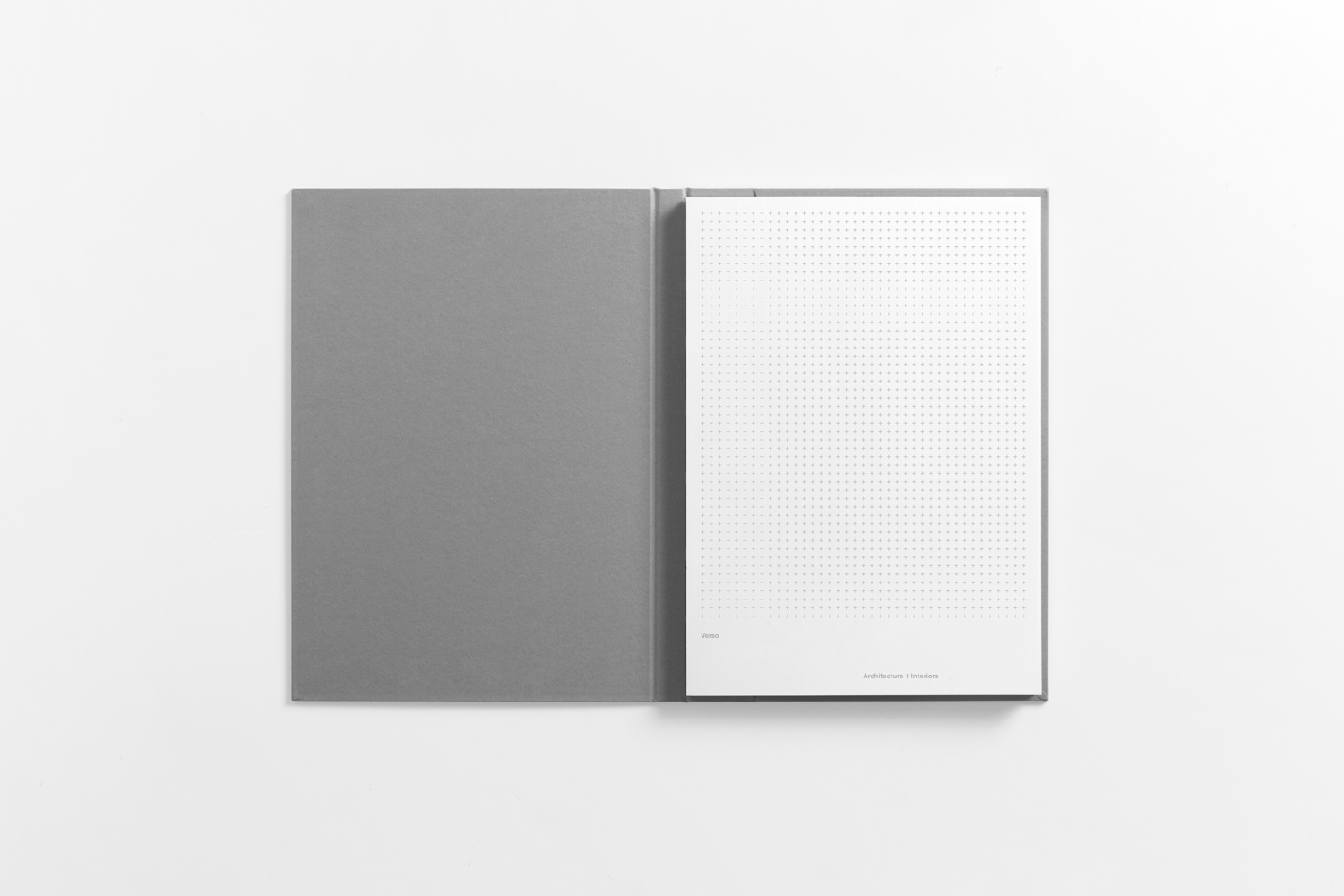 Grid notepad by Studio South for Auckland-based architecture and interior business Verso