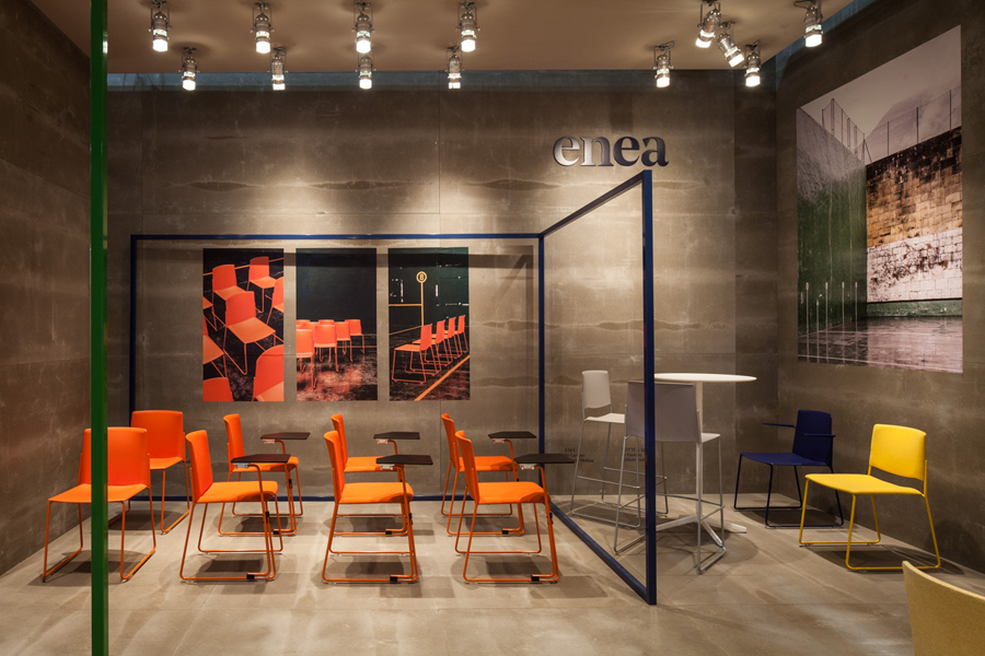 Exhibition Stand Design Furniture : New logo for enea by clase bcn — bp o