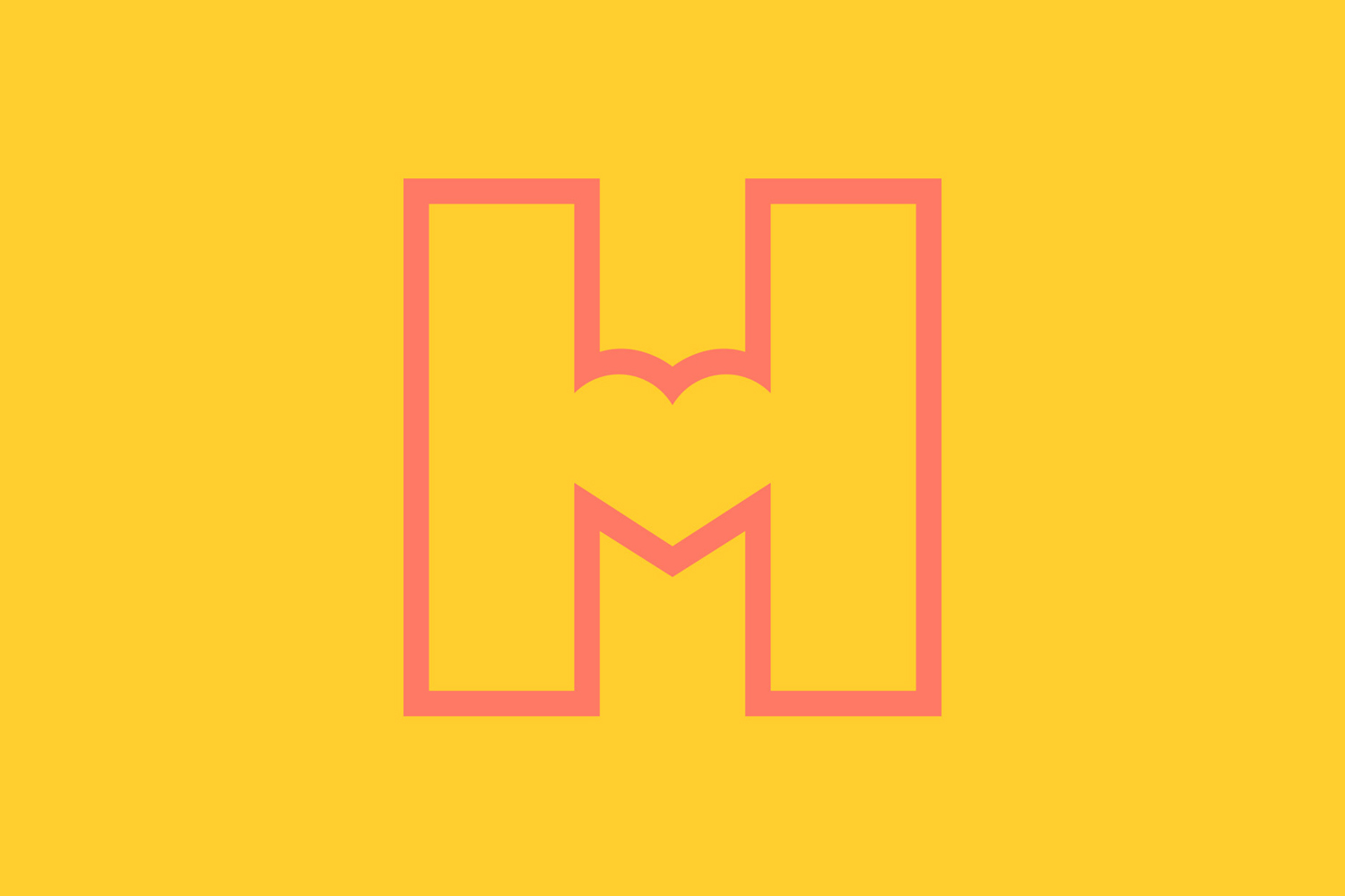 Logo by Finnish graphic design studio Werklig for Helsinki City Museum