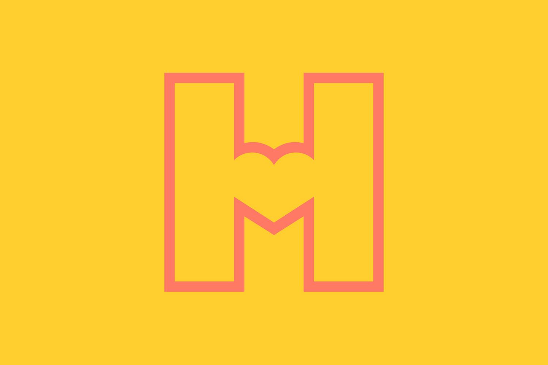 Logo by Finnish graphic design studio Werklig for Helsinki City Museum