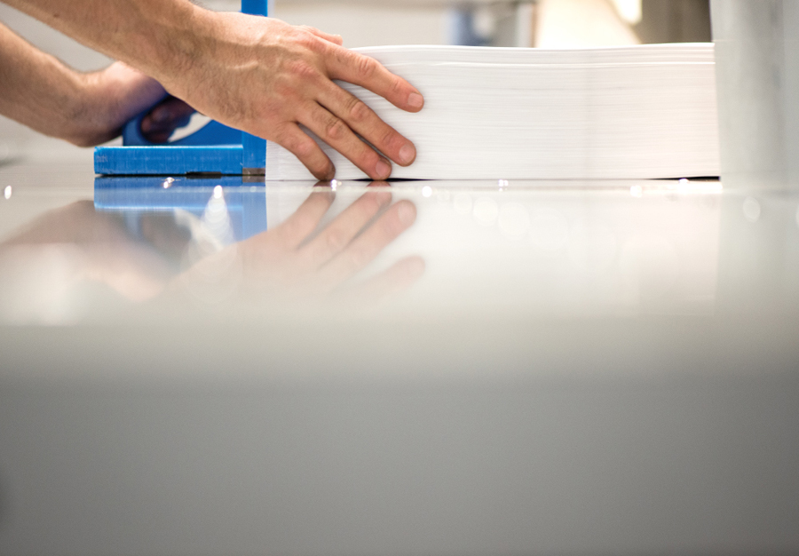 Photography for Leeds based print production business Team Impression by Design Project