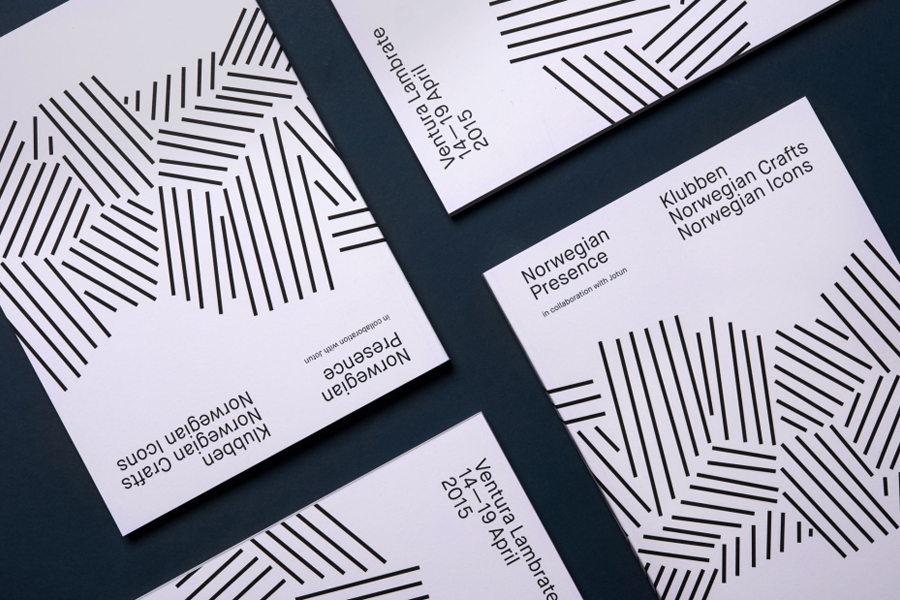 Catalogue for Norwegian Presence by graphic design studio Bielke&Yang