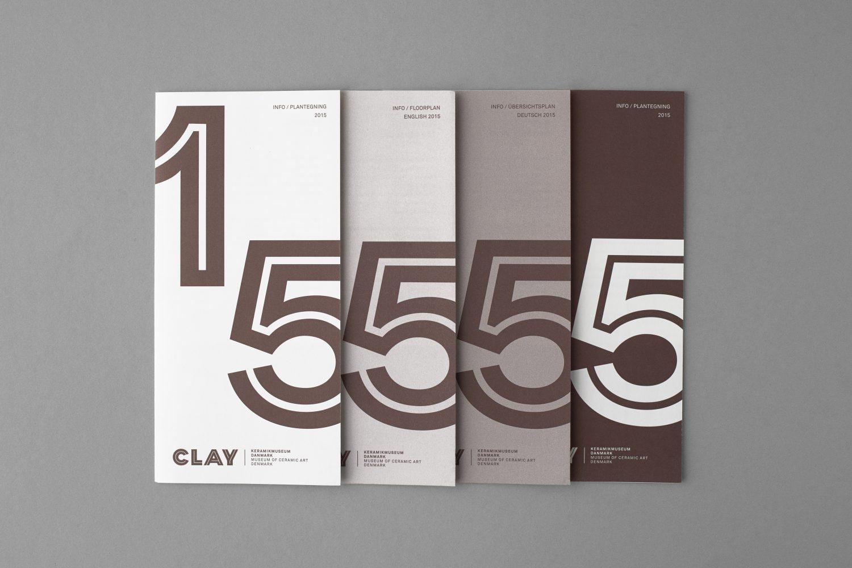 Art Gallery Logos & Exhibition Branding – Clay by Studio Claus Due