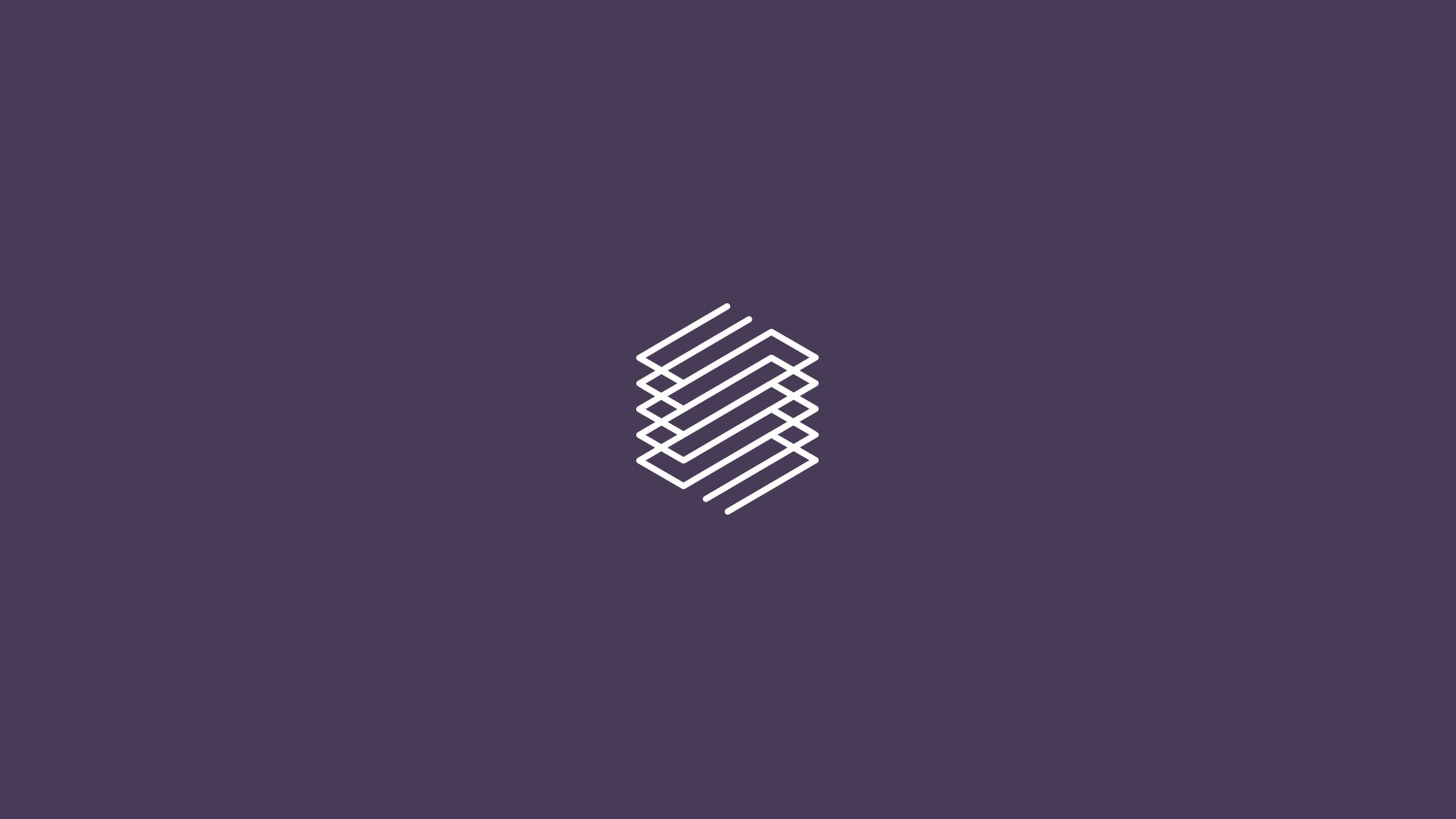 Logo by London-based Socio Design for space accounting specialist Stevenson Systems