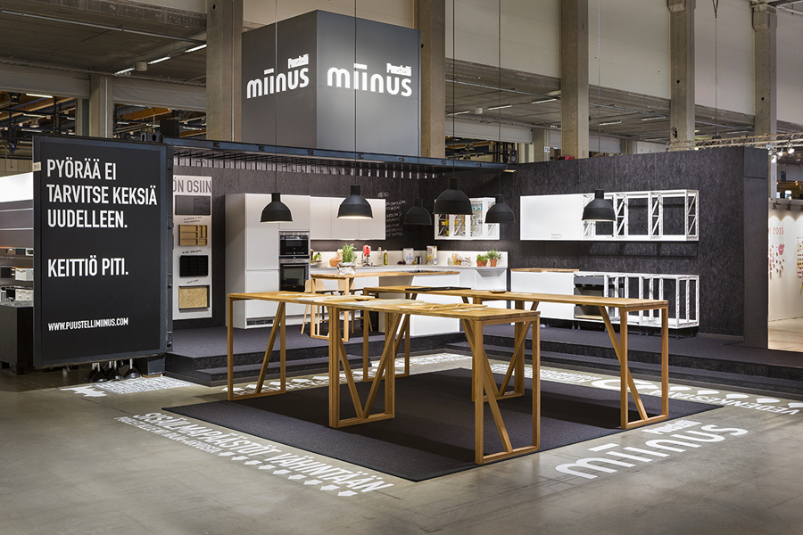 Exhibition Stand Kitchen : New logo and brand identity for miinus by bond bp o