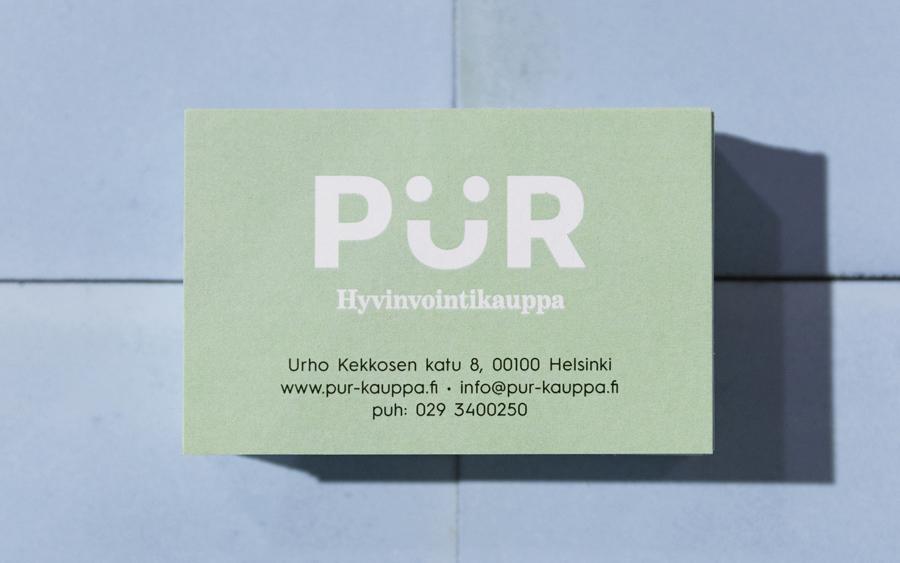 Branding – PÜR by Bond, Finland