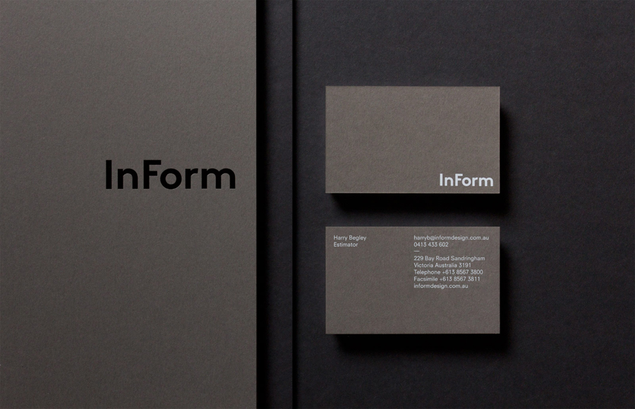 New brand identity for inform by hofstede bp o for Architecture and design company