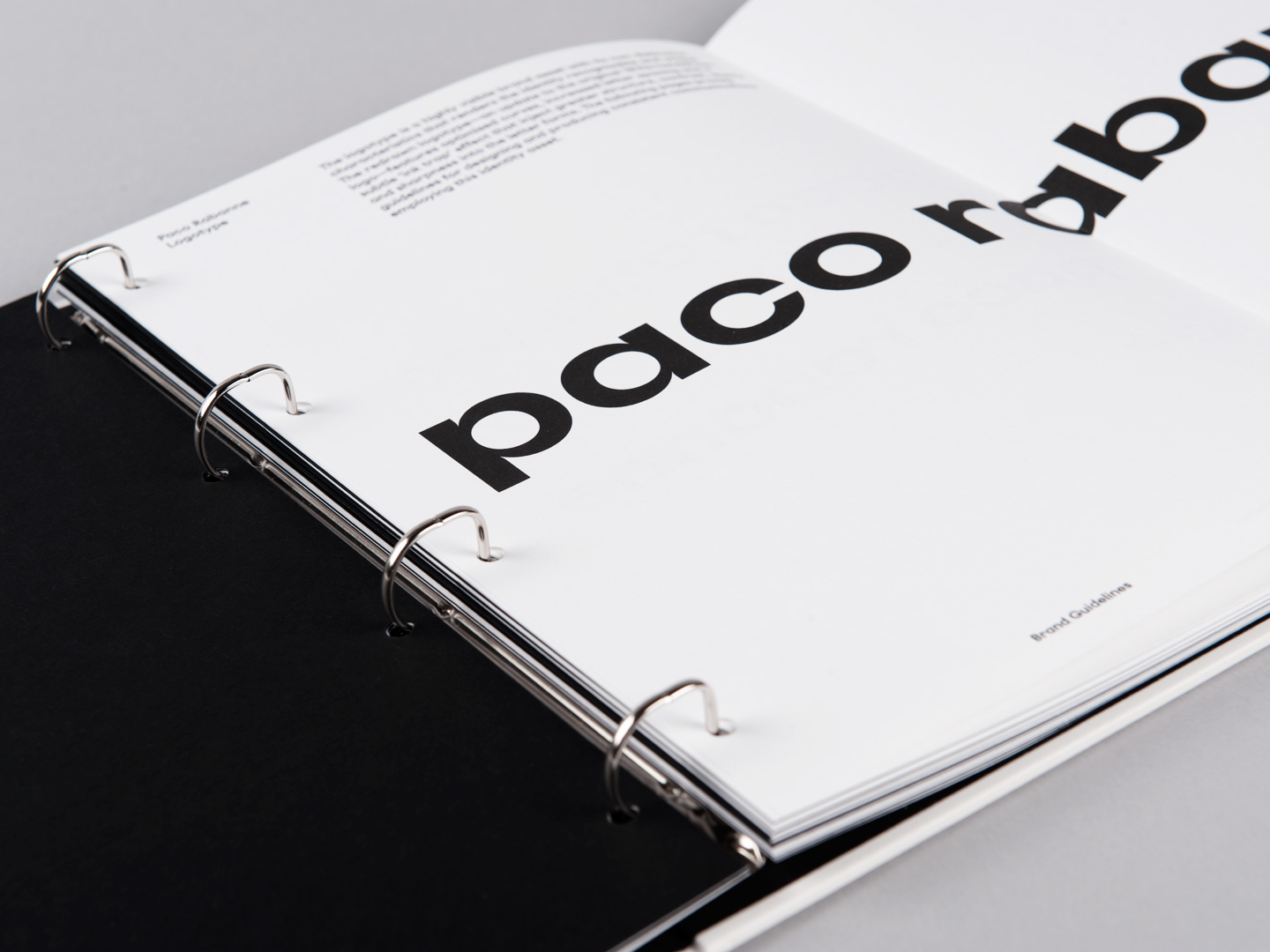 Brand Guidelines – Paco Rabanne by Zak Group, United Kingdom