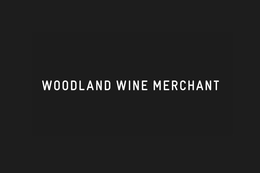 Logotype for Nashville based Woodland Wine Merchant by Perky Bros