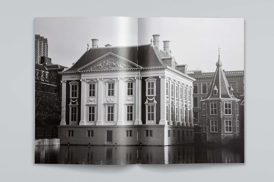 Print designed by Dumbar for Dutch art museum Mauritshuis