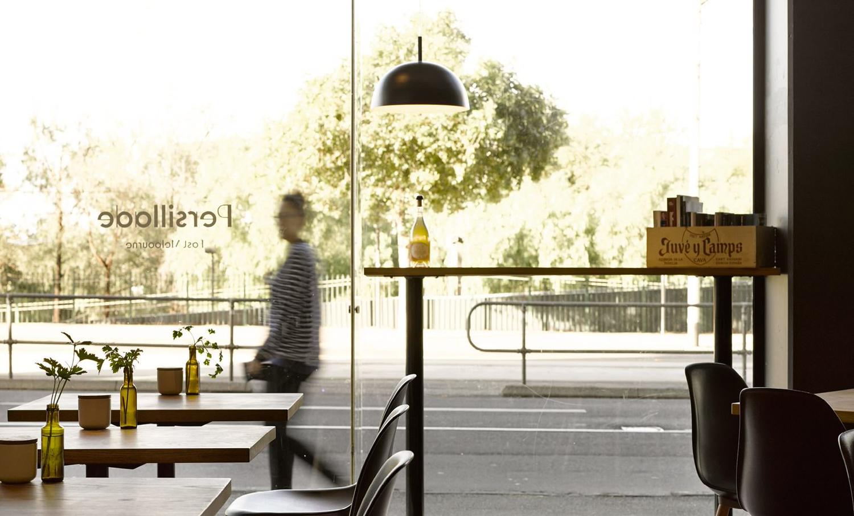 Interior of Melbourne cafe Persillade