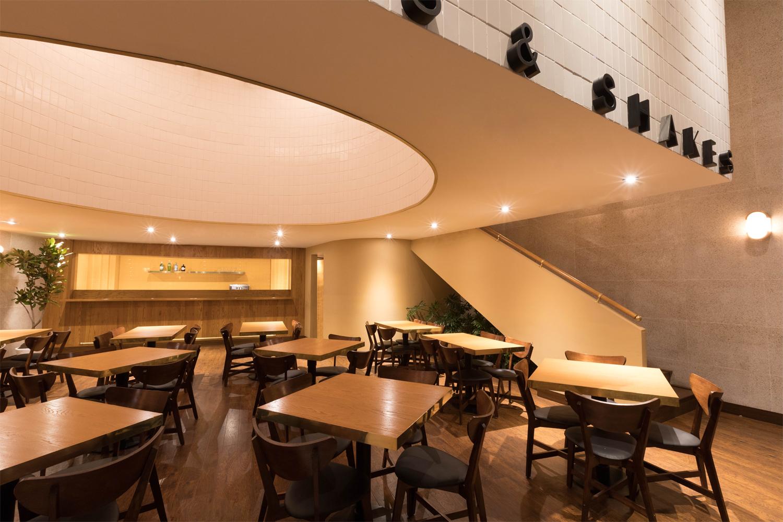 Interior design by Anagrama for San Pedro based burger bar Orson