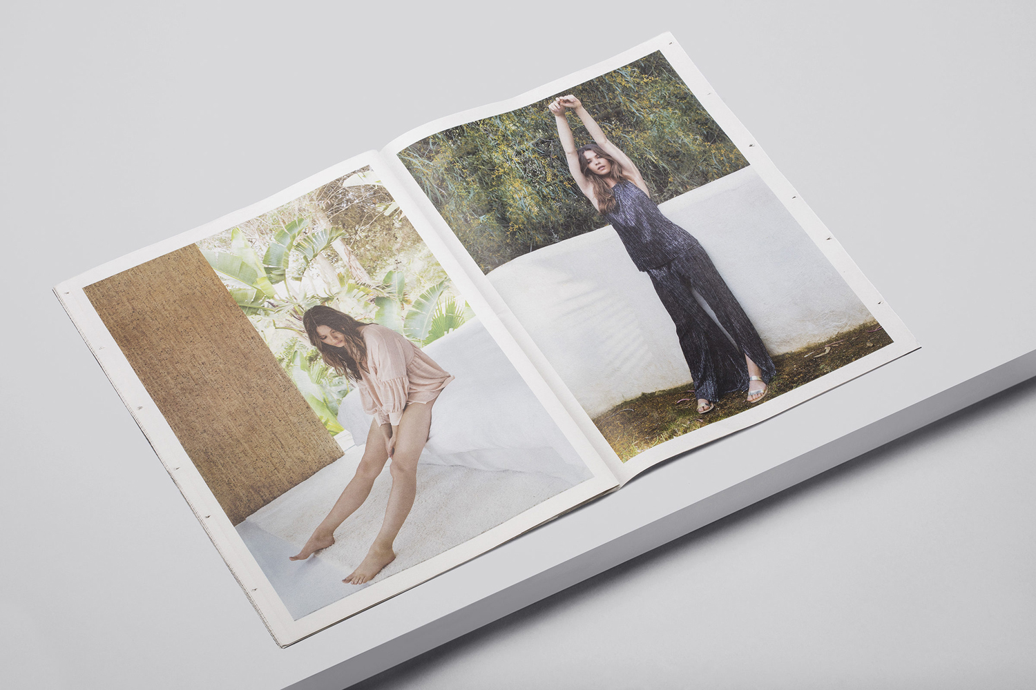 Brand identity and newsprint by Two Times Elliott for Australian fashion boutique in London The Dayrooms