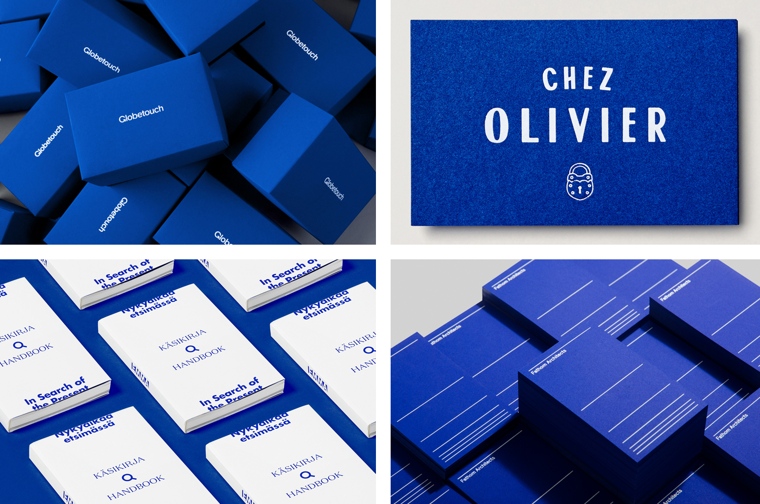 BP&O Collections — Blue In Branding