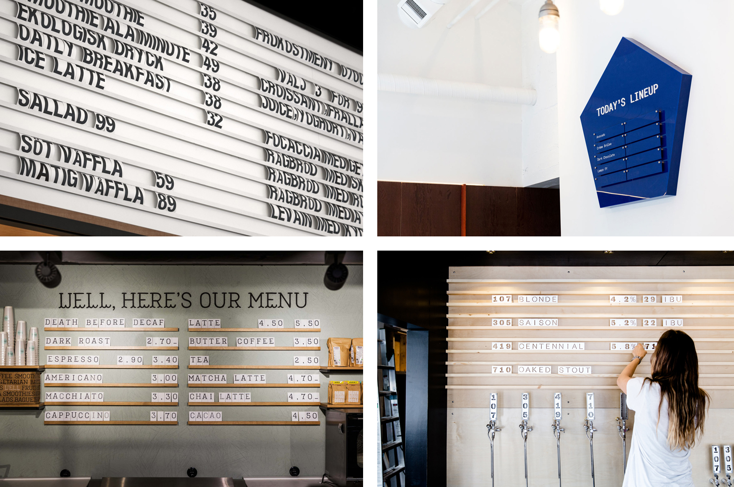 The Very Best Menu Board Designs Bp O