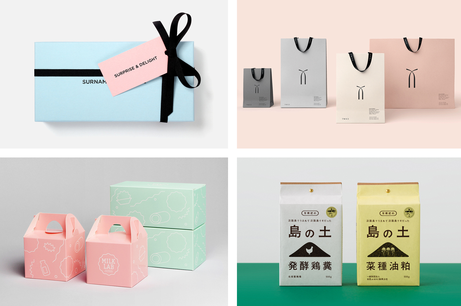 BP&O Collections — Pastels In Branding