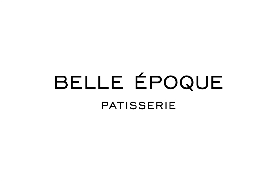 Logotype for London based French Patisserie Belle Epoque by Mind Design