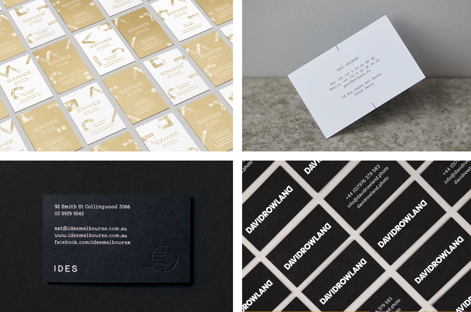 The best business cards of 2015 for Best cards for 2015