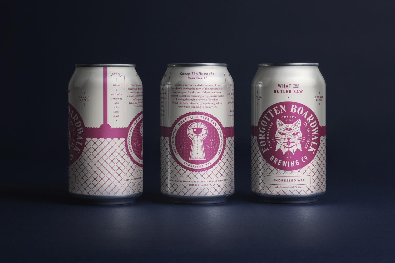 Best Packaging Design 2016 – Forgotten Boardwalk Brewing by Perky Bros