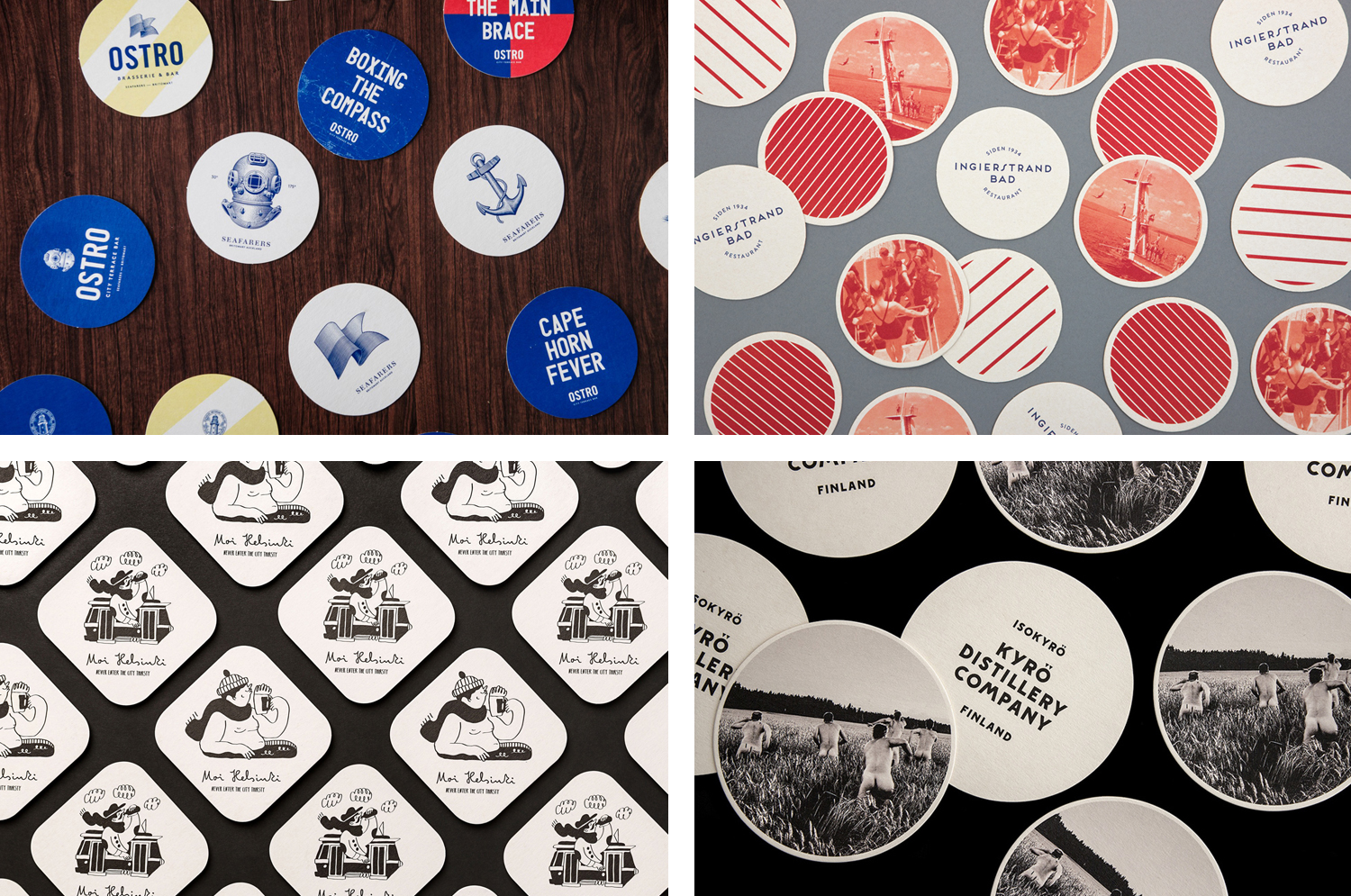 The Best of BP&O – Beer Mats & Coasters