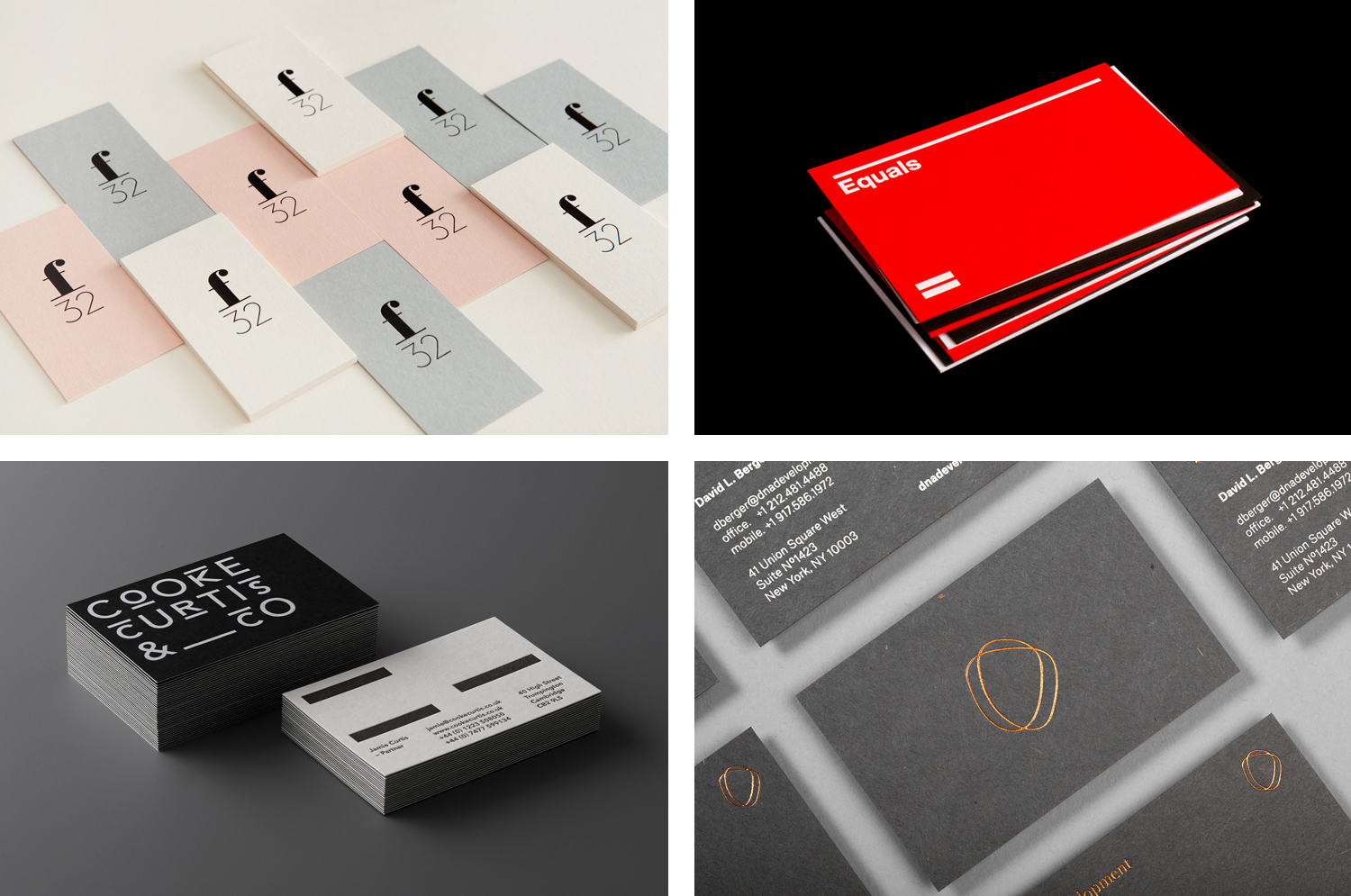 Business Card Design Inspiration No 10 — BP&O