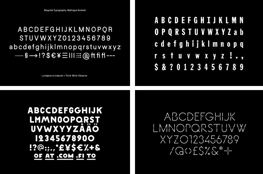 The Best of BP&O — Custom Typography