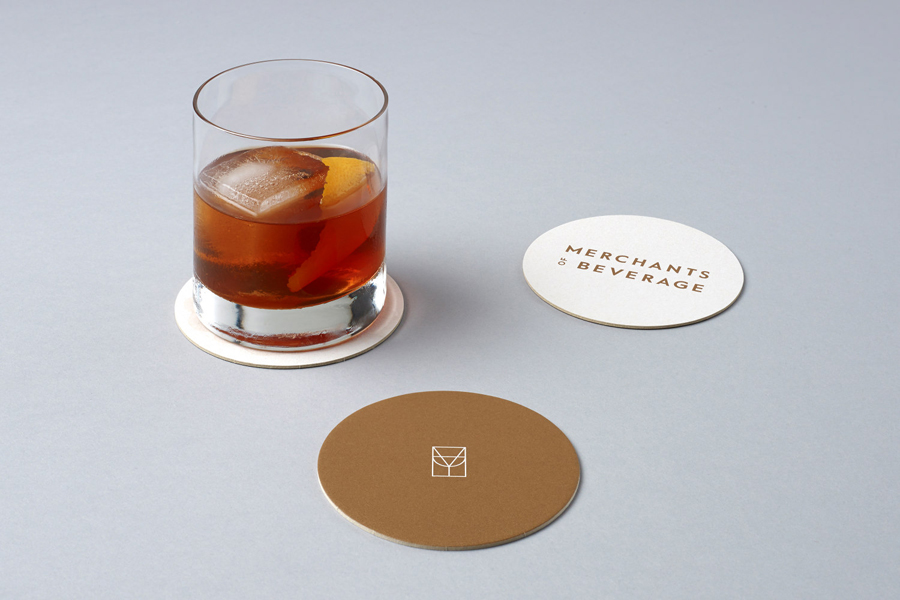 Coasters for Merchants of Beverage by Manual, United States