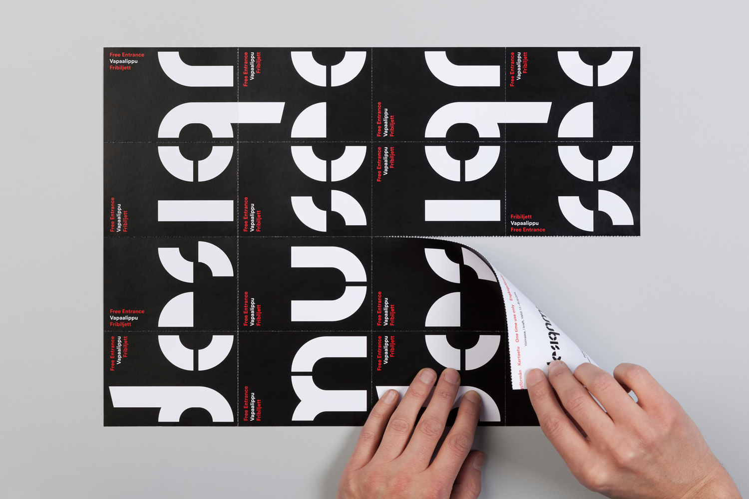 Brand identity for Design Museum by Bond