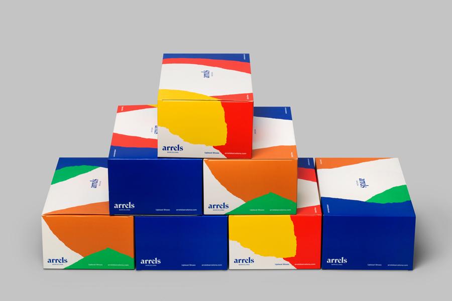 Fashion Branding & Packaging – Arrels by Hey, Spain