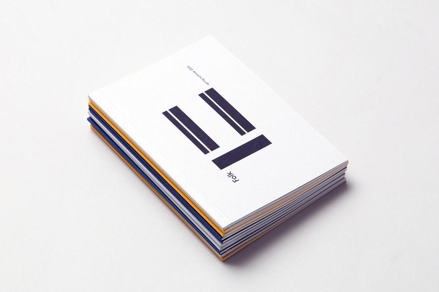 Folk Summer / Spring 2016 lookbook by graphic design studio IYA Studio, United Kingdom