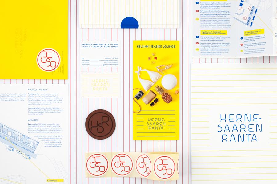Branding for Hernesaaren Ranta by Werklig, Finland
