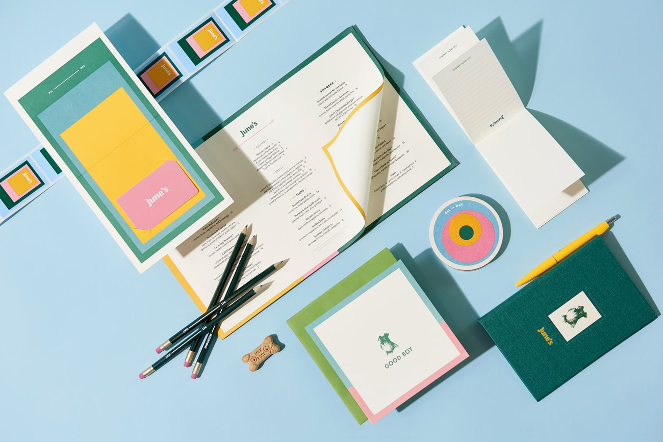 Cafe Branding – June's by Föda, United States